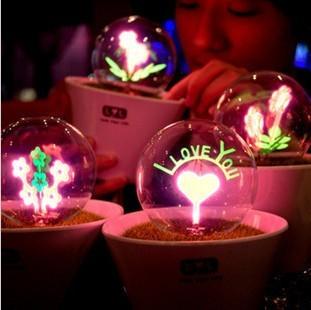 花火小夜灯 创意新奇特别生日礼物送女友男朋友同学浪漫情人礼品-订花人鲜花
