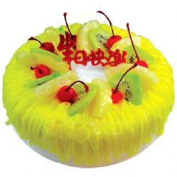 �A形�r奶水果蛋糕/月光(8寸)