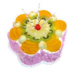 �r奶水果蛋糕/花�幽耆A(8寸)