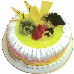 �A形�r奶水果蛋糕/美��人生(8寸)