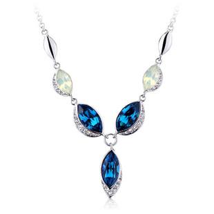 施华洛世奇元素 水晶 时尚 复古 欧美项链 兰亭序-订花人鲜花