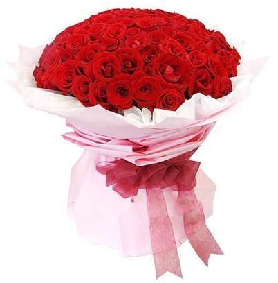 99枝红玫瑰/天使之吻-订花人鲜花