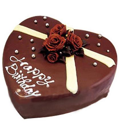 巧克力蛋糕/浓情(8寸)-订花人鲜花