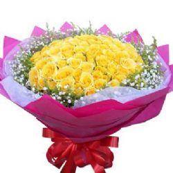 一往情深/99朵黄玫瑰
