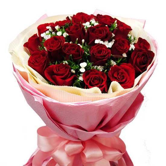 我的心意/21朵红玫瑰-订花人鲜花