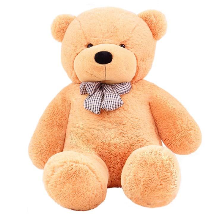 礼品/180cm浅棕色泰迪熊-订花人鲜花
