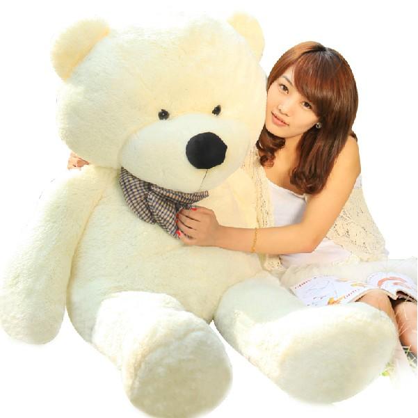 礼品/100cm白色泰迪熊-订花人鲜花