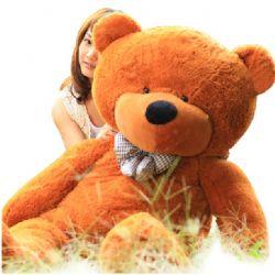礼品/100cm深棕色泰迪熊