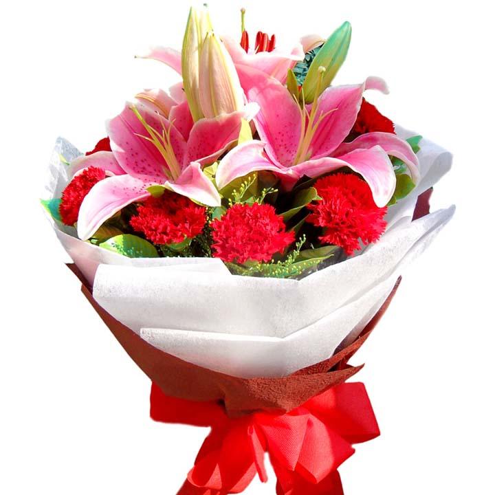 铭记在心/11朵康乃馨-订花人鲜花