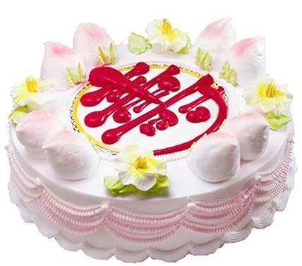 祝寿蛋糕/寿比松龄-订花人鲜花