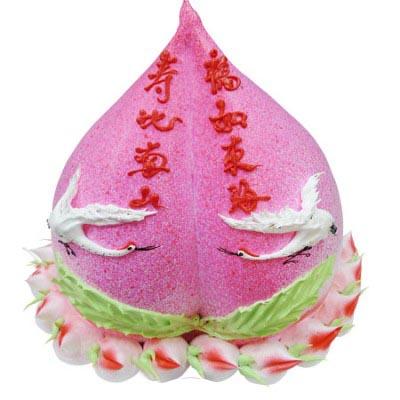 祝寿蛋糕/大寿桃-订花人鲜花