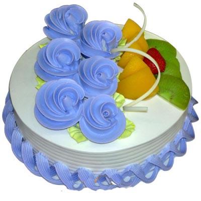 水果蛋糕/蓝色恋吻-订花人鲜花