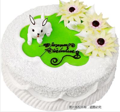 �r奶蛋糕/小兔白白-�花人�r花