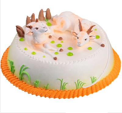 �r奶蛋糕/喜�庋笱�-�花人�r花