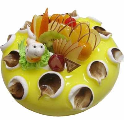 鲜奶蛋糕/春之舞-订花人鲜花