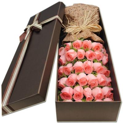 �Y盒/33枝粉玫瑰