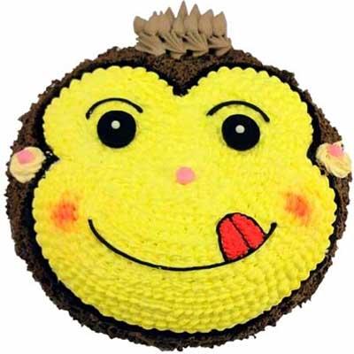 鲜奶蛋糕/嬉皮猴-订花人鲜花
