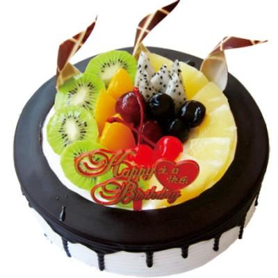 巧克力蛋糕/缤纷奇异-订花人鲜花