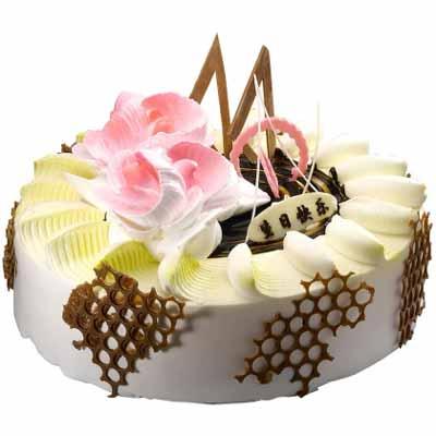 �r奶蛋糕/美��心�`-�花人�r花