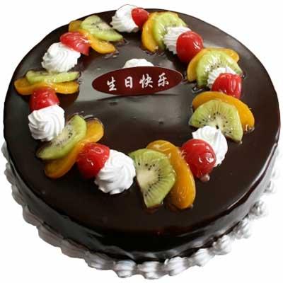 巧克力蛋糕/夜幕之光