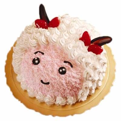 �r奶蛋糕/美羊羊-�花人�r花