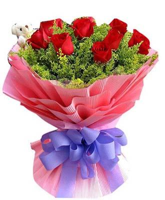 10枝红玫瑰/十全十美 -订花人鲜花