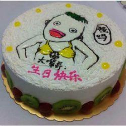 鲜奶蛋糕/爱你男人