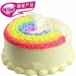 彩虹蛋糕/细细温柔