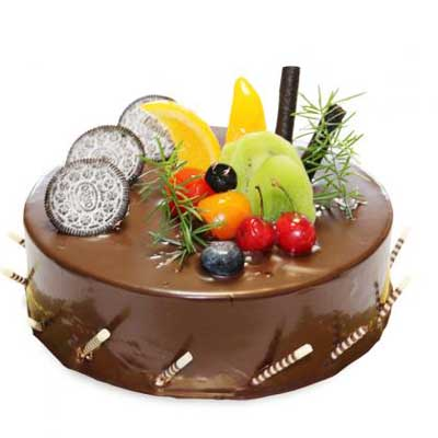 巧克力蛋糕/美���L景-�花人�r花
