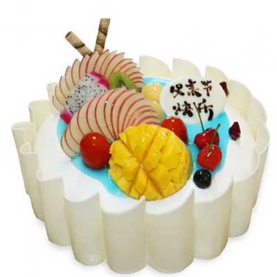 水果蛋糕/老爸爱你-订花人鲜花