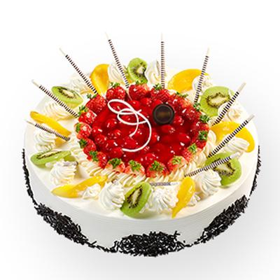 水果蛋糕/旋转布拉格