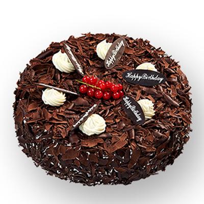 巧克力蛋糕/幸运六叶草