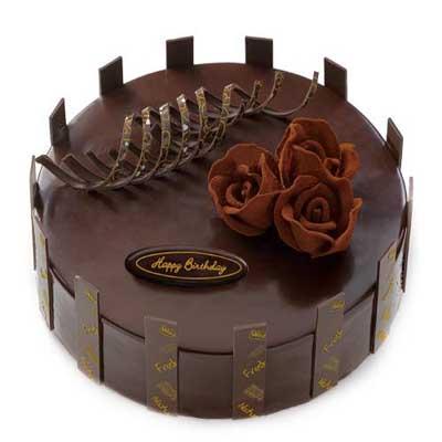 巧克力蛋糕/纯情玫瑰蛋糕 -订花人鲜花