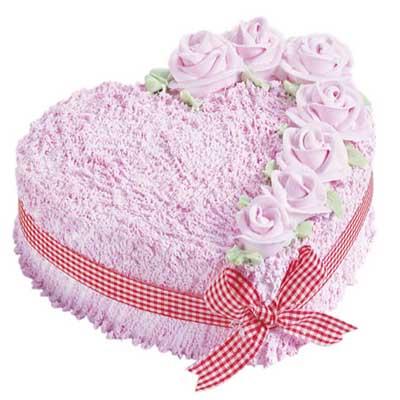鲜奶蛋糕/心心相印-订花人鲜花