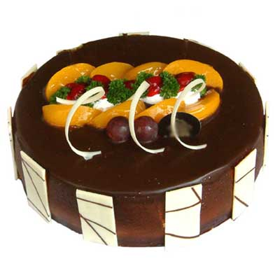 巧克力蛋糕/朱古力乐园-订花人鲜花