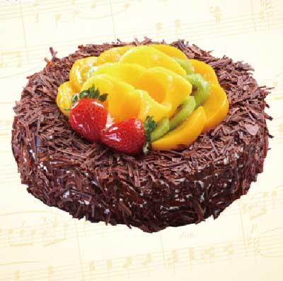 巧克力蛋糕/黑色浪漫-�花人�r花