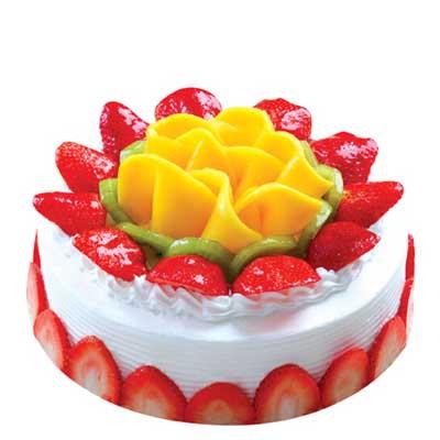 水果蛋糕/午后阳光