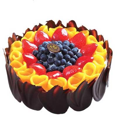 巧克力蛋糕/心花怒放-订花人鲜花
