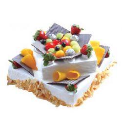 双层水果蛋糕/叠舞轻盈
