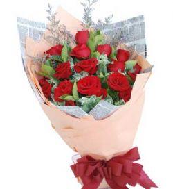 19枝红玫瑰/倾心