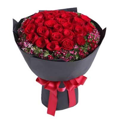 33枝红玫瑰/忘情巴黎