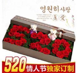 礼盒/33枝红玫瑰全部