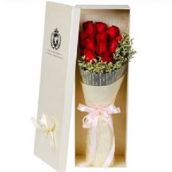 礼盒/11枝红玫瑰心花怒放