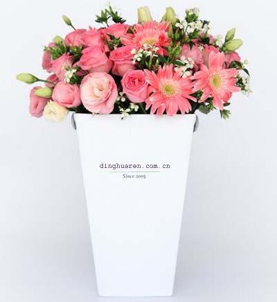 19枝粉玫瑰/芬芳-订花人鲜花